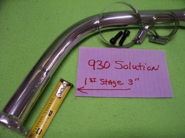 930 Solution (Flathead Pipe)